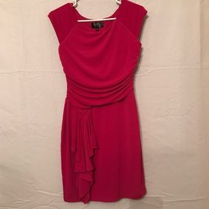 Guess Hot Pink Fitted Dress